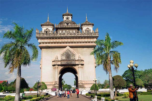 Arc de Triumph of Laos