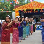 Cultural activities during Bun Pha Vet