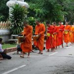 Early-morning-Monk-ceremony-in-Luang-Prabang tour