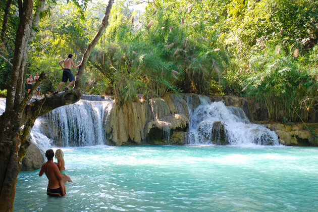 Khouangsi-Waterfall-laos-tour