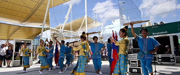 Cultural activities celebrating Lao National Day