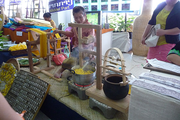Laos Handicraft Festival