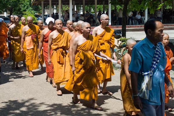 Laos dead ceremony