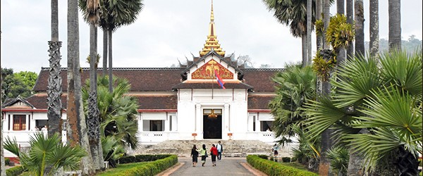 Royal Palace Museum is located in the heart of Luang Prabang