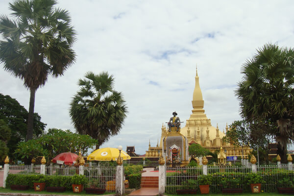 That-Luang-Stupa, Laos itinerary