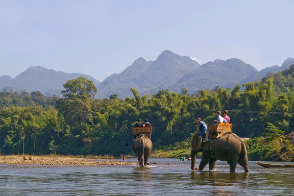 The best time to visit Laos is from December to April