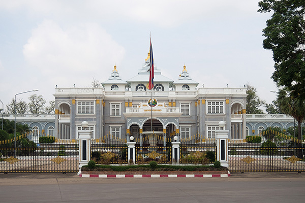 The Presidential Palace Vientiane