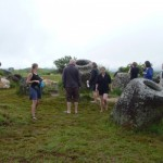 Tourists visiting Plain of Jars