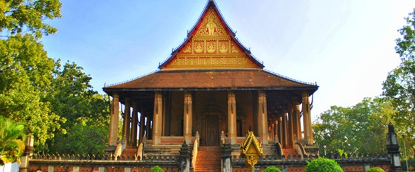 Wat Ho Phra Kaew is a former temple in the city of Vientiane