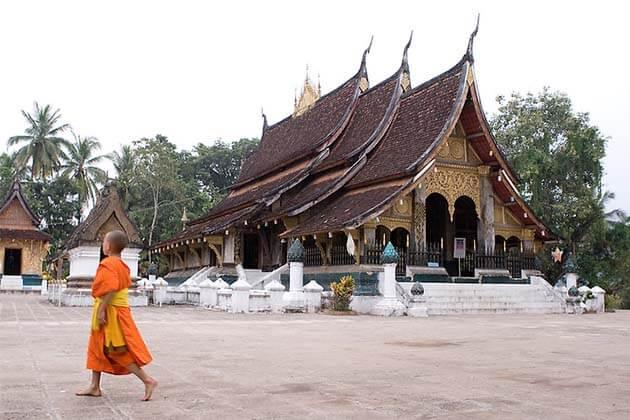 Wat-Xieng-Thong, tour in Laos