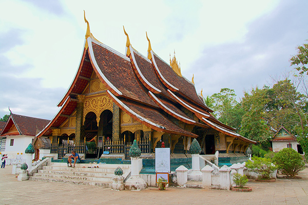 Visit Luang Prabang on a trip to Laos | Audley Travel |Wat Xieng Thong Luang Prabang