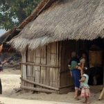 hmong village laos