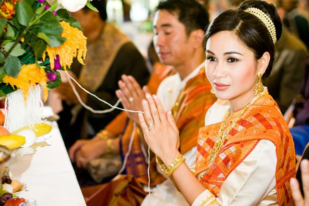 laotian wedding