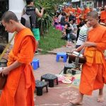 morning alms giving in Laos, Laos packages