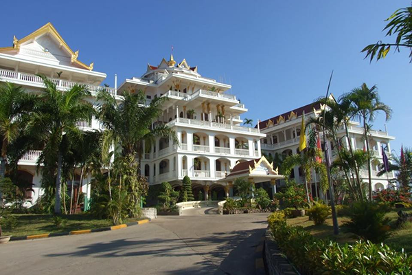 Champasak Palace was a former residence of the Prince of Champasak