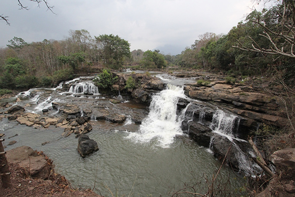 Lad To waterfall on Bolaven Plateau