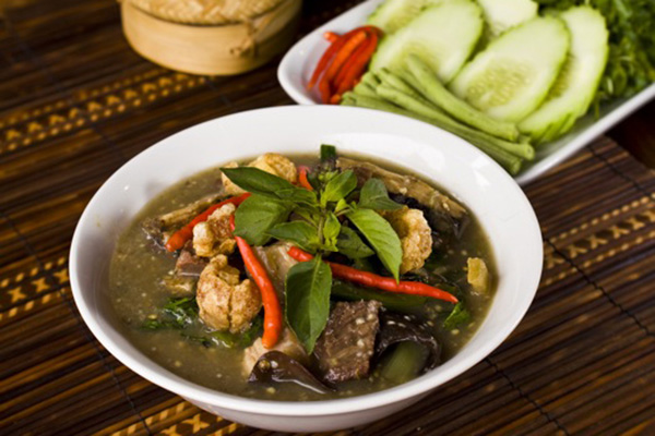 Oh Lam is a humble dish of village origins savored by royalty
