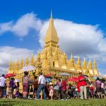 That Luang Stupa, Tour to Laos