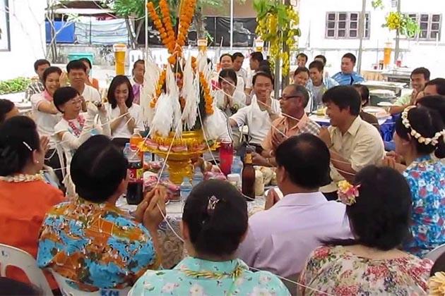 Laos Traditional Baci
