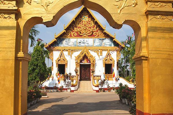 Wat Luang in Paske