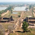 Wat Phou Asa view from Phou mountain