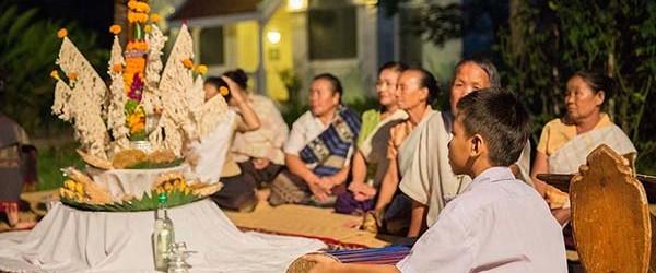 Baci ritual ceremony