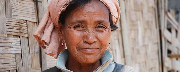An old woman of Lao Theung