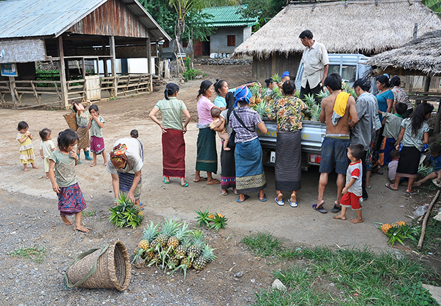 Lao Theung community