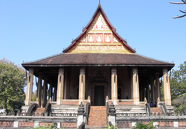 Wat Si Saket - the oldest temple in Vientiane, Laos