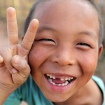 Smile in Laos