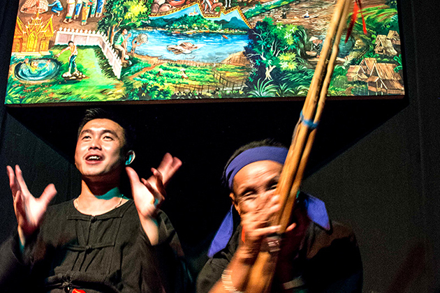 Garavek is Laos' traditional storytelling