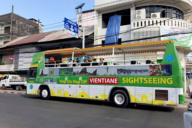 One trip on the Vientiane Sightseeing Bus