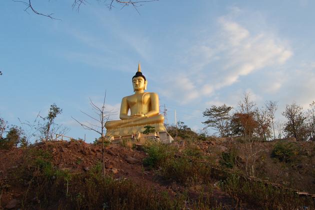 Pakse Golden Buddha