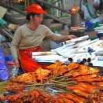 Vangthong Evening Food Market