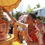 Laos New Year Festival