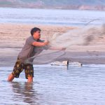 Fishing nets in Luang Prabang, Laos Vacation Packages