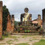 Giant Buddha in Muang Khoun in Xieng Khouang, Laos Trips