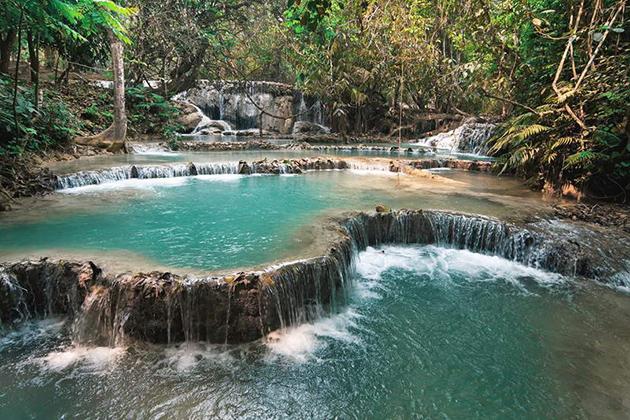 Khouang Si waterfalls