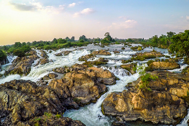 Liphi Waterfall, Laos