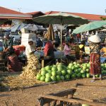 Local Market in Pakse, Laos tour