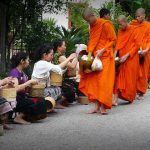 Luang Prabang Morning Alms Giving, Laos Travel Packages