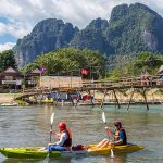 Kayaking in Nam Song River, Laos Vacations