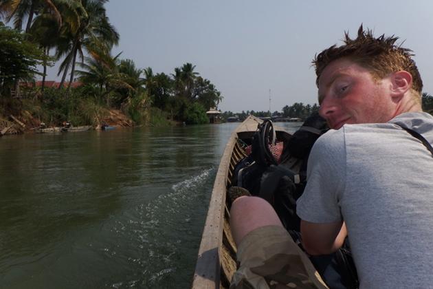 Boat trip in Sin Phan Don 4000 Islands