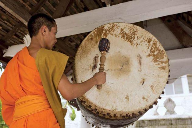 Laos Traditional Musical Instrument Kong