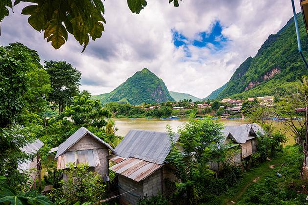Nong Khiaw Luang Prabang Laos