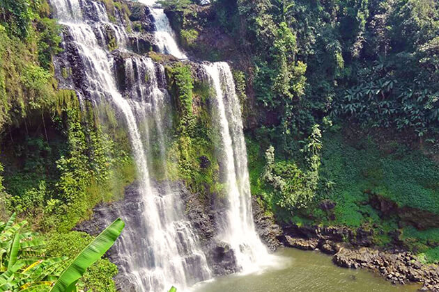 Tad-Yuang-Waterfall-in-Bolaven, Laos vacations