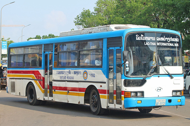 Cost of Buses in Laos, Local Tour in Laos