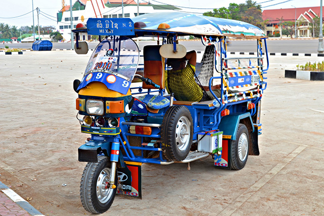Cost of Tuk-Tuk in Laos, Laos Tour Packages