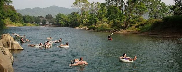 Tubing in Vang Vieng-The Best Experience You Must Try