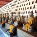 Buddha at Watsisaket, Laos Trips